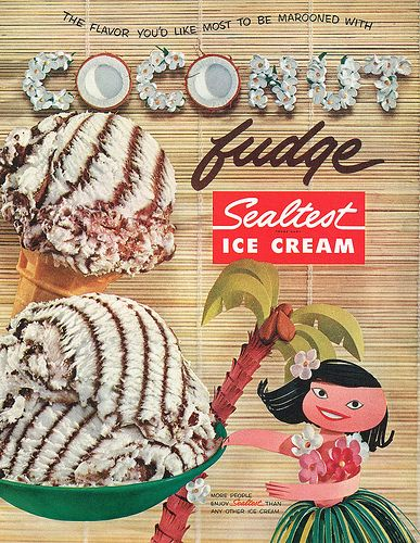 like a delicious frozen bounty chocolate bar to be enjoyed all summer long food chocolate coconut ice cream vintage ads do they still male this
