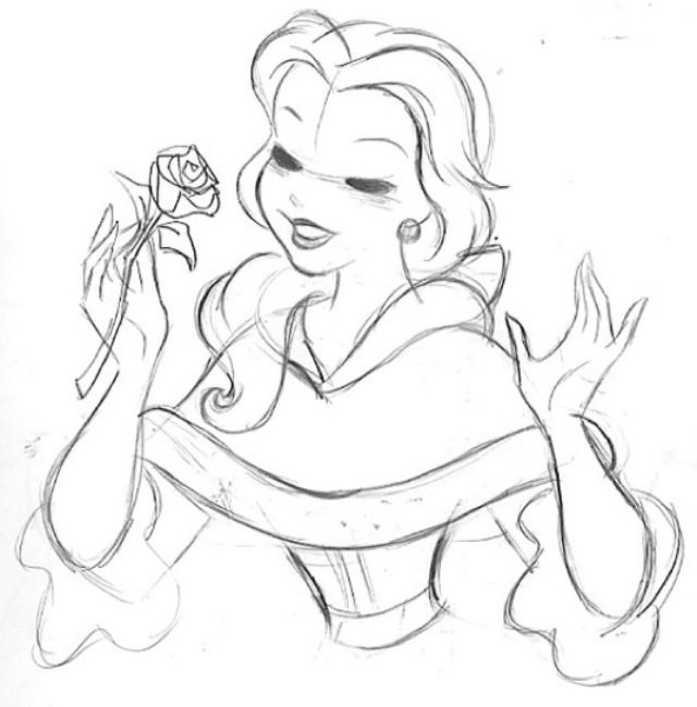 Disney Malvorlagen Zeichnungen Charakterdesign Skizzen Kinderzimmer Zitate Gezeichnete Bilder Die Schone Und Das Biest