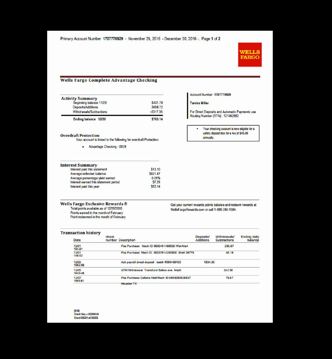 Fake chase bank statement unique how to get chase bank