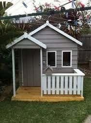Beautiful New MALIBU Kids Cubby House Made In Melbourne Solid Timber Friendly Service