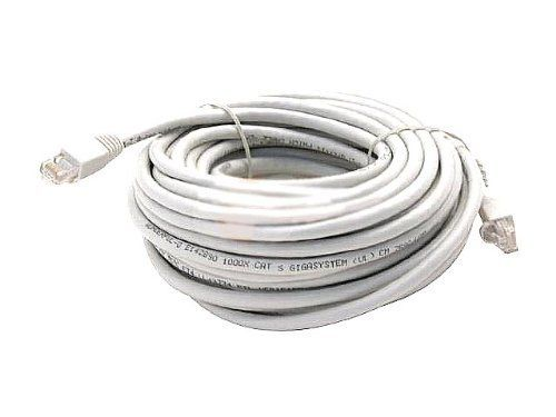 WHITE 100FT CAT6 CAT 6 RJ45 PATCH ETHERNET NETWORK