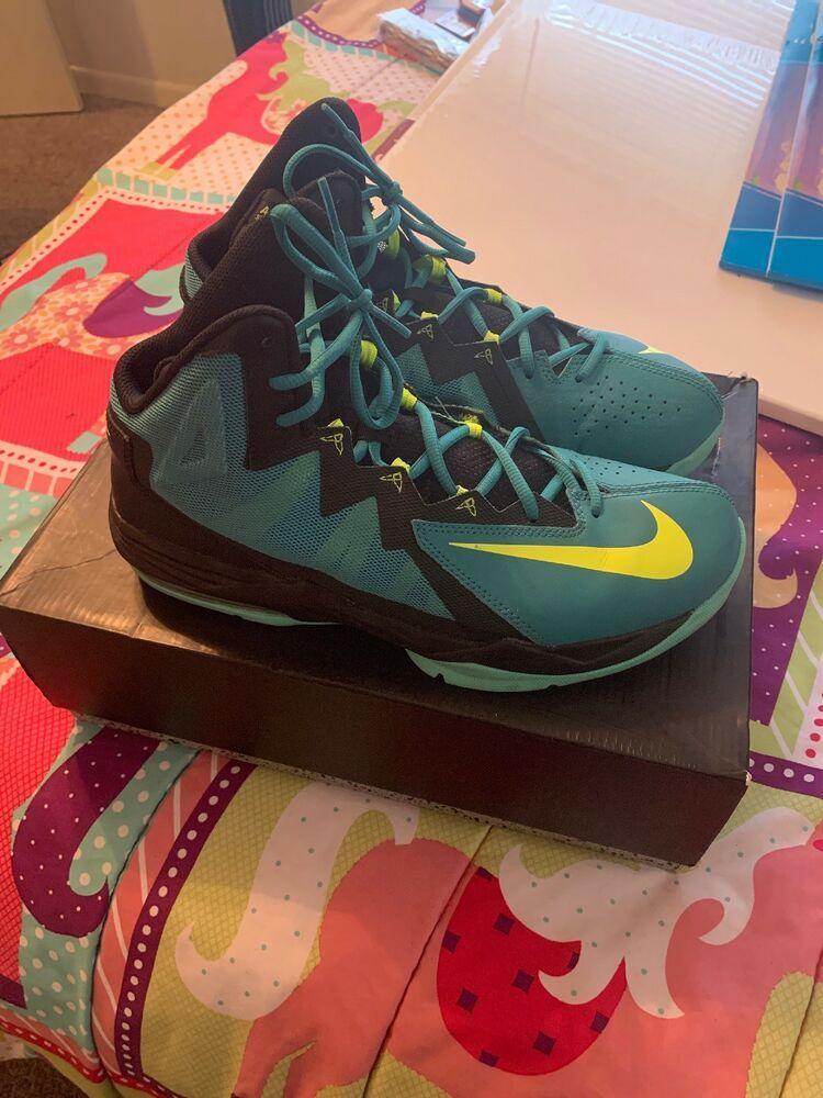 Nike Air Max Stutter Step 2 Mens Sz 11 Sneaker Shoe Green