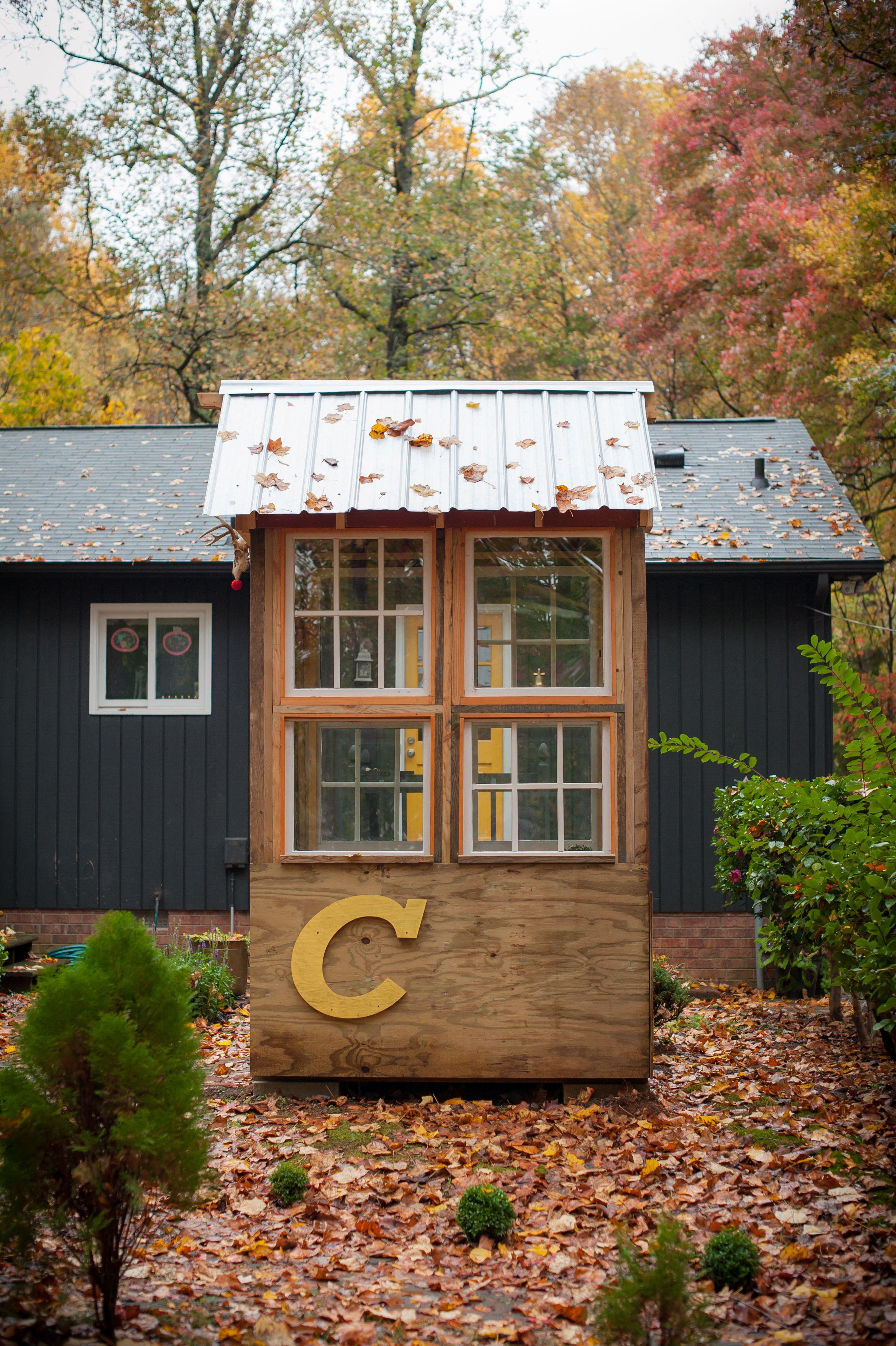 our tiny backyard sanctuary club house time out spot studio