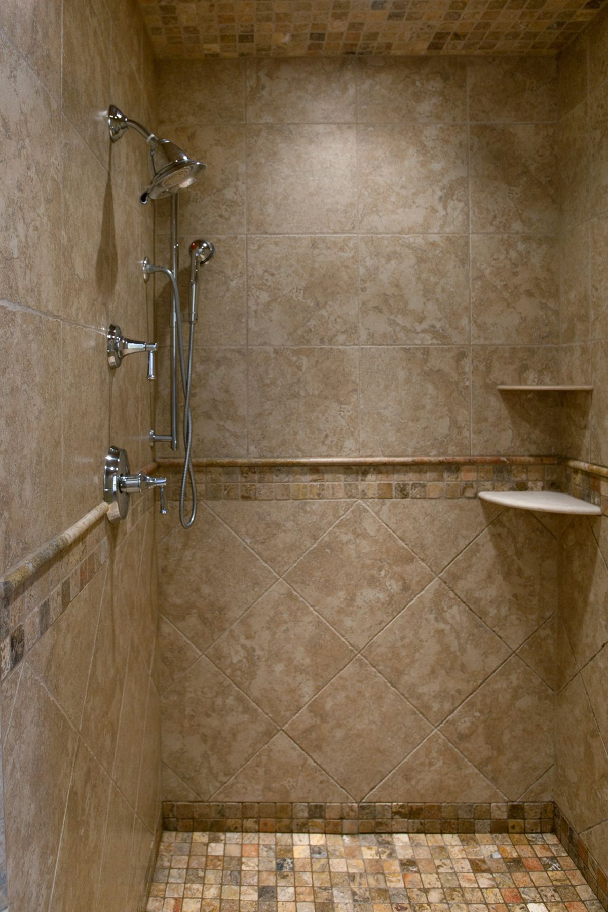 Master bathroom remodel Flat Rock WNC Shower Custom