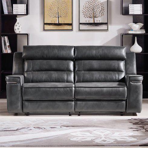 Leather sofa Austin
