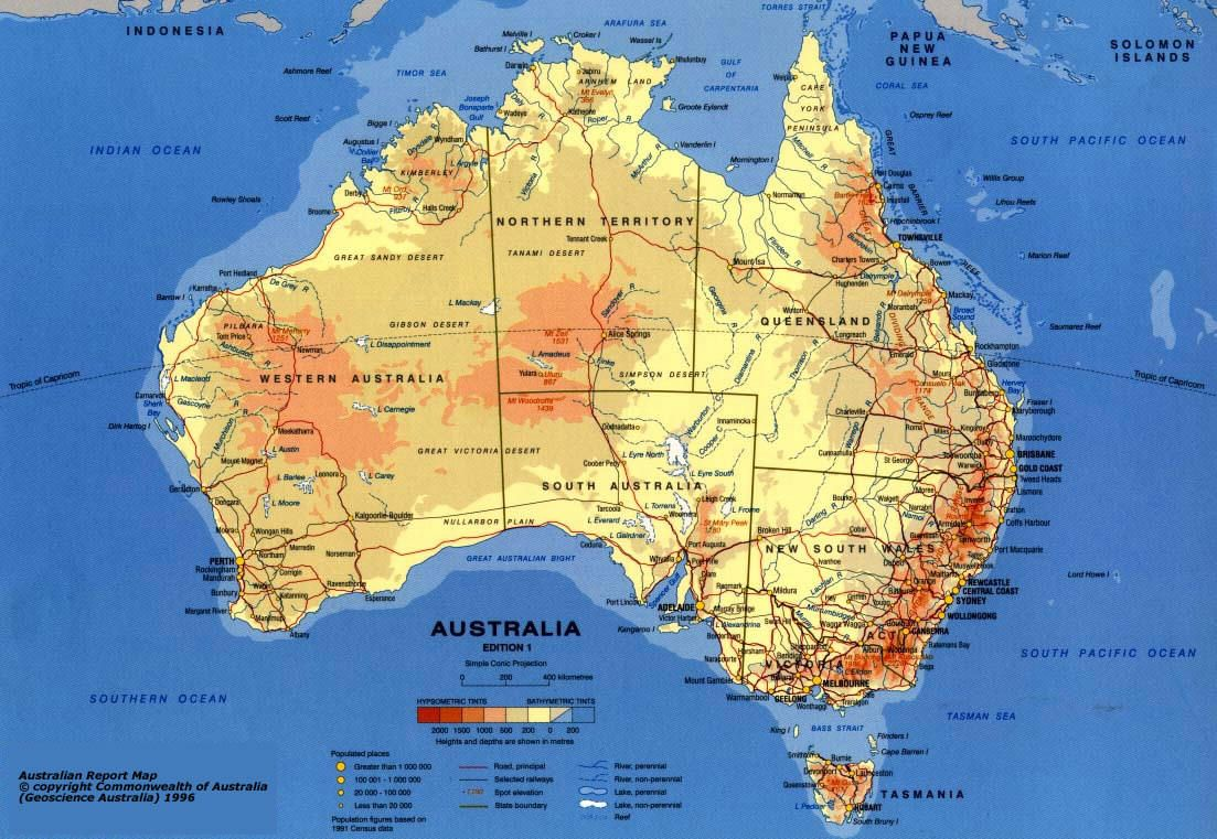 WOW Australia Expedition Maps Ancient and Modern