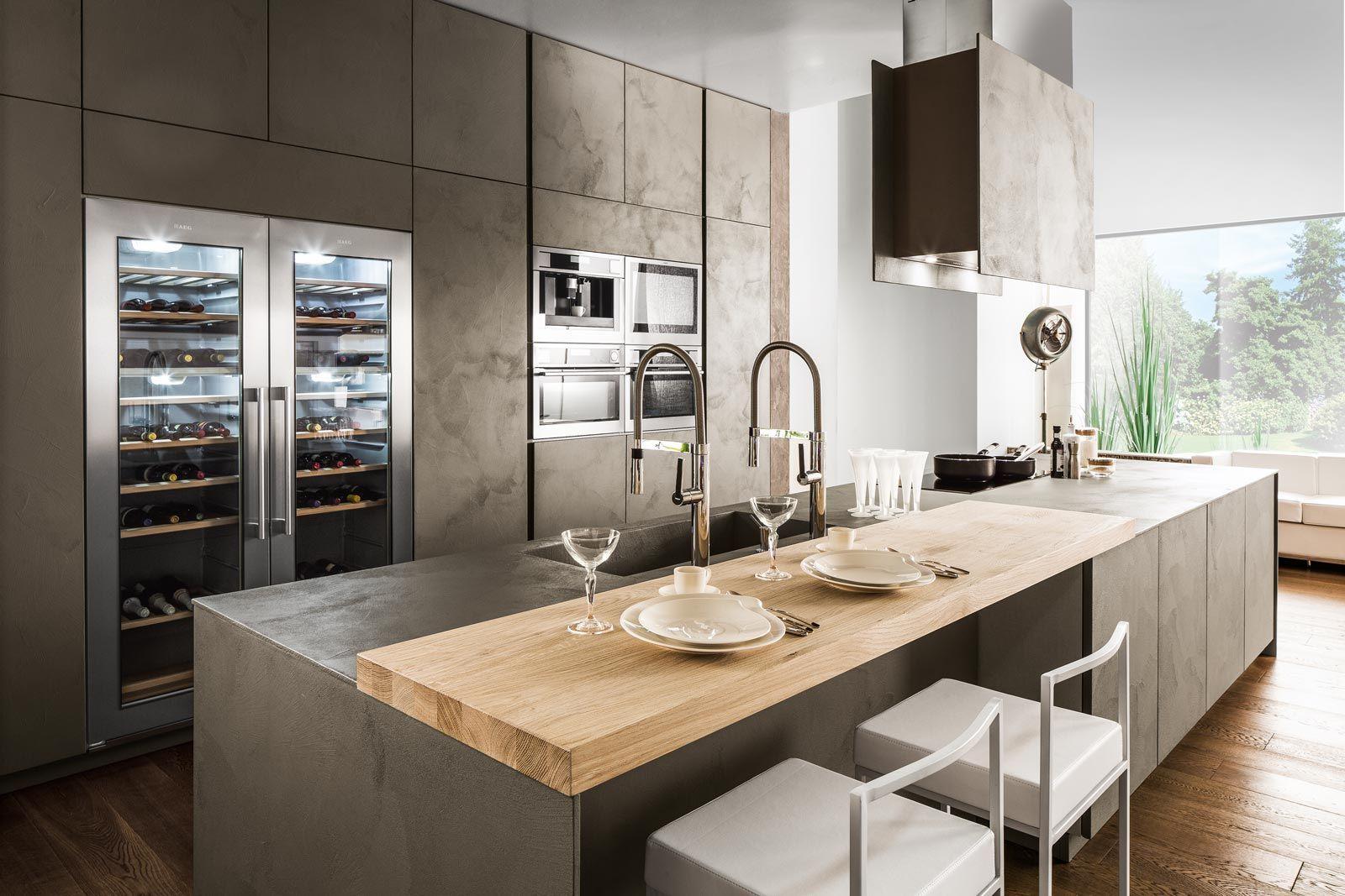 Eurocucina 2016: superfici soft touch per le nuove cucine ...