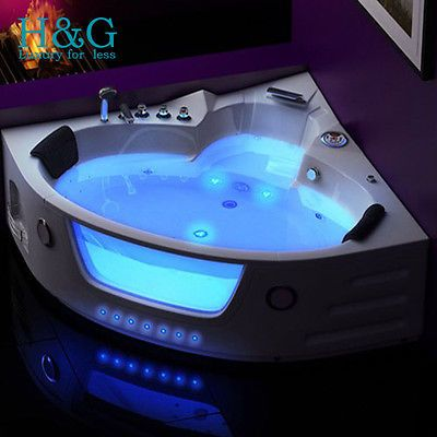 1350 Whirlpool Spa Jacuzzi #massage #luxury Corner 2 Person #bathtub Model:  614