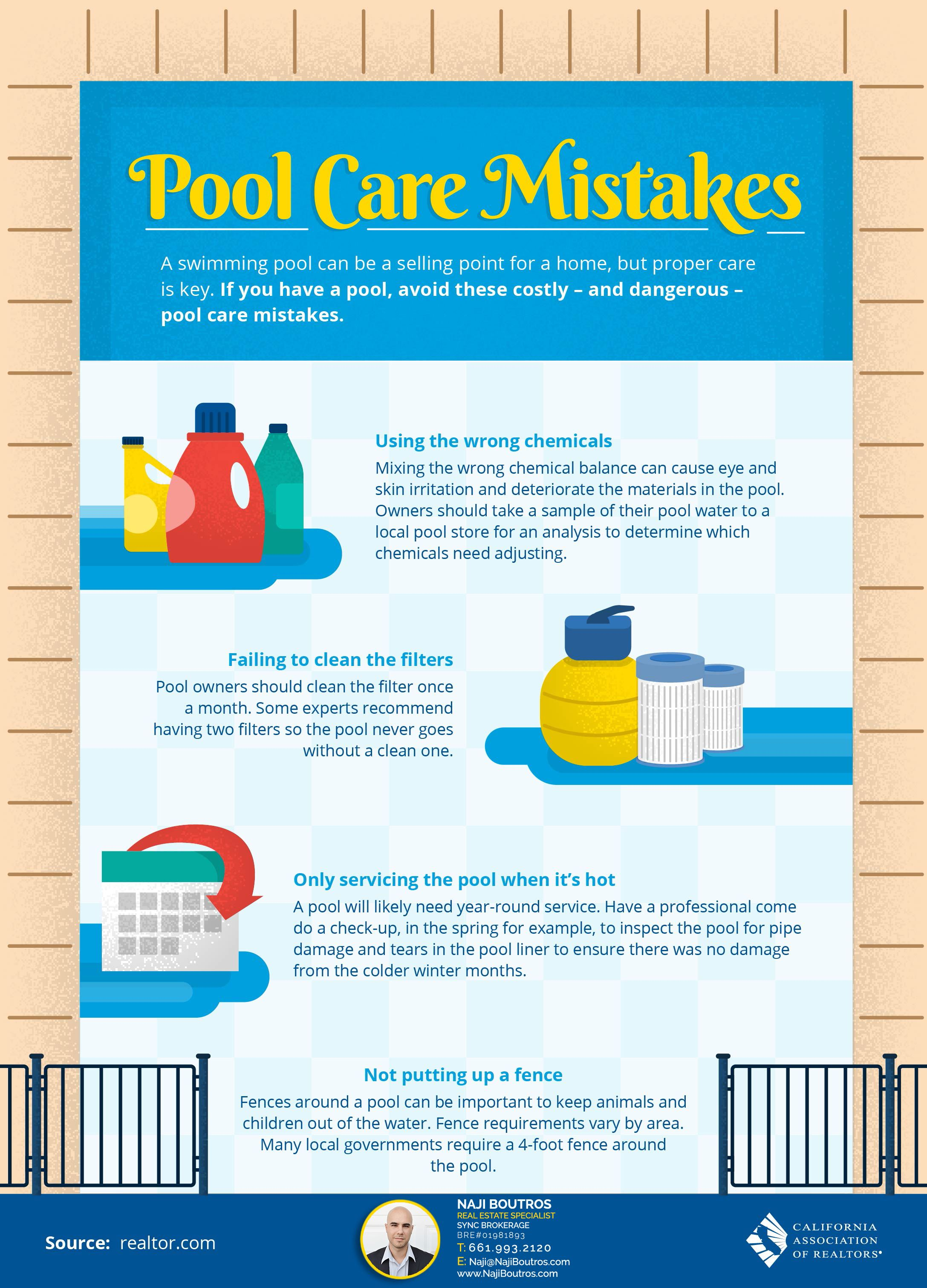 Four Costly and Dangerous Pool Care Mistakes | Real estate
