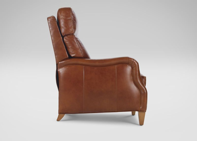 Aiden Leather Recliner, Old EnglishSaddle | Leather