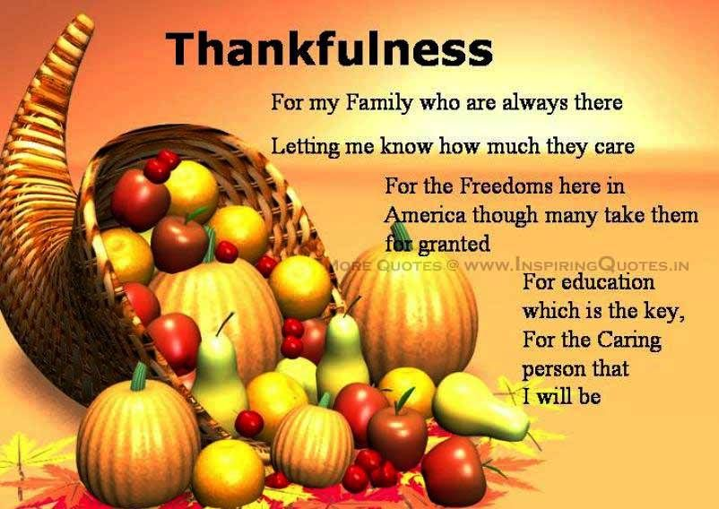 happy thanksgiving family quotes