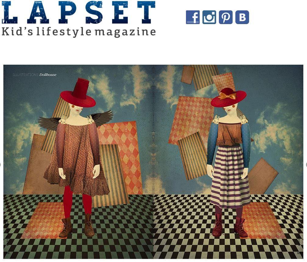 Наши съемки и мои иллюстрации в сентябрьском выпуске журнала  Lapset magazine - Kids lifestyle magazine   http://lapsetmag.com/mag.html