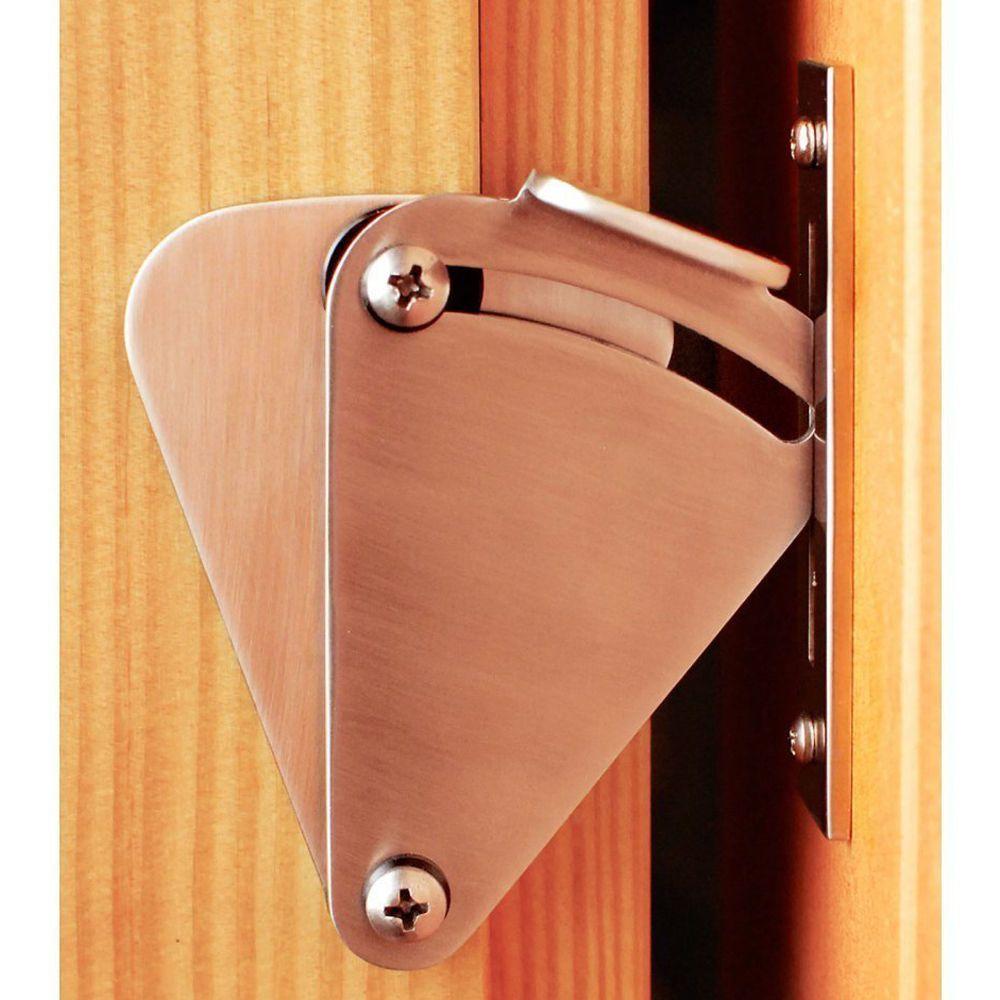 Garage door lock latch  Stainless Steel Lock For Sliding Barn Wood Door Hardware Bolt Latch