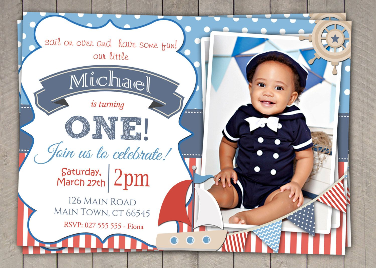 nautical invitation - Google Search | Nautical Party Ideas ...