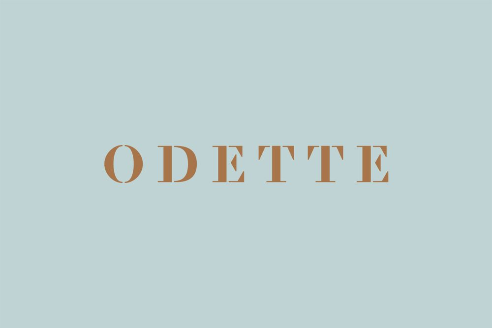 Odette designed by Dmowski & Co.