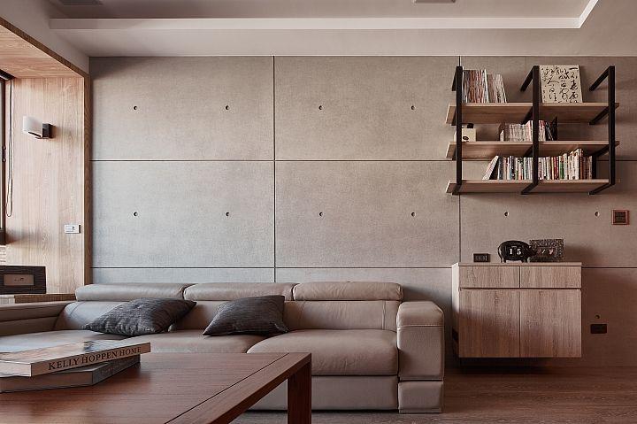 開箱 簡約和風大改造 清水模 珪藻土 木格柵 Interior Design