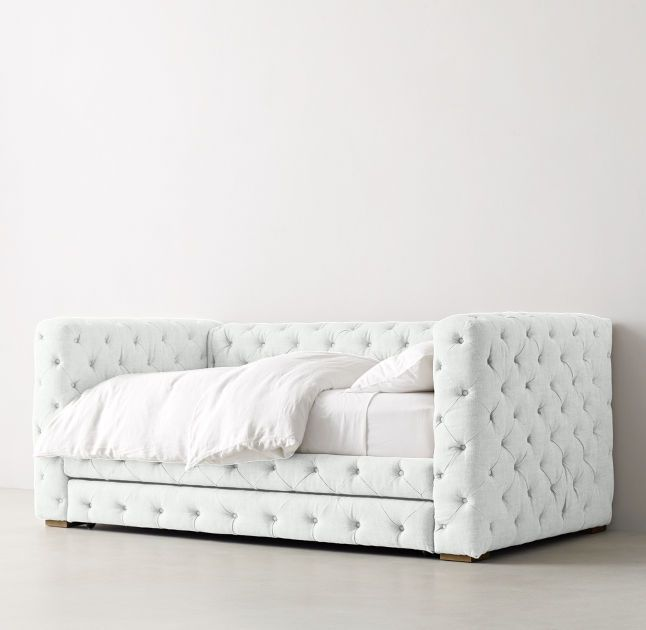 Tribeca Tufted Daybed With Trundle Daybed With Trundle Daybed