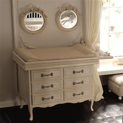 Ordinaire Alternate Furniture Set: I Love This Antique White Changing Table And Its  Matching Mirrors. I Could Probably Mix And Match The Mirrors With The Bratt  Set.