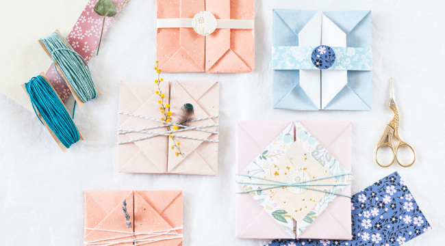 Photo of Making an origami envelope | Cristina Colli