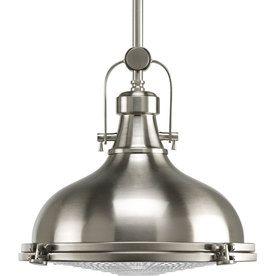 Brushed Nickel - Pendant Lights - Hanging Lights - The Home Depot