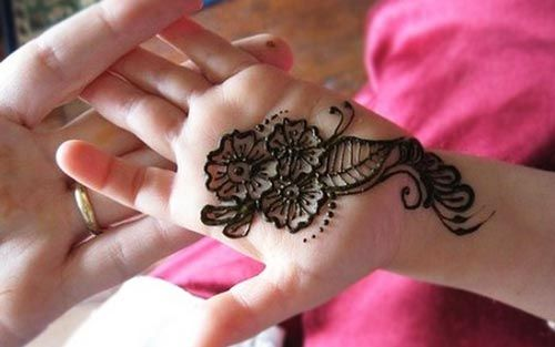 Mehndi For Thumb : New and simple easy kids mehndi designs  henna style for