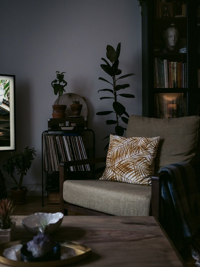 Settling in at home Lounge chair cushions, Interiors and Living rooms