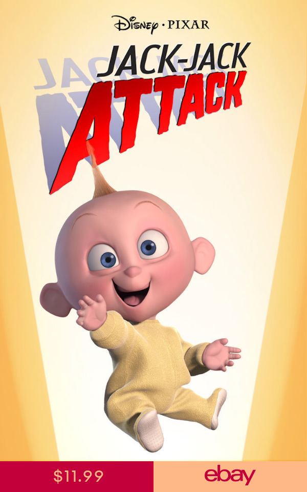 The Incredibles Jack Jack Attack 11 X 16 1 4 Collector S Poster Print B2g1f Sinema