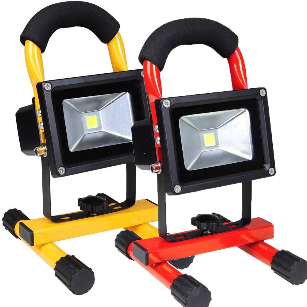 These Rechargeable Portable Cordless Led Flood Lights Are Convenient And Can Be Very Useful In Your Car And Home As A T Flood Lights Led Flood Led Flood Lights