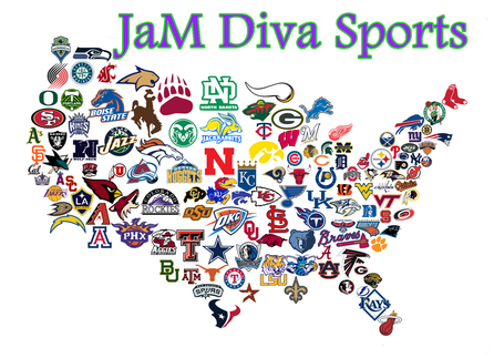 Customized Earrings With Your Favorite NFL NBA MLB NHL Or - Nfl team us map