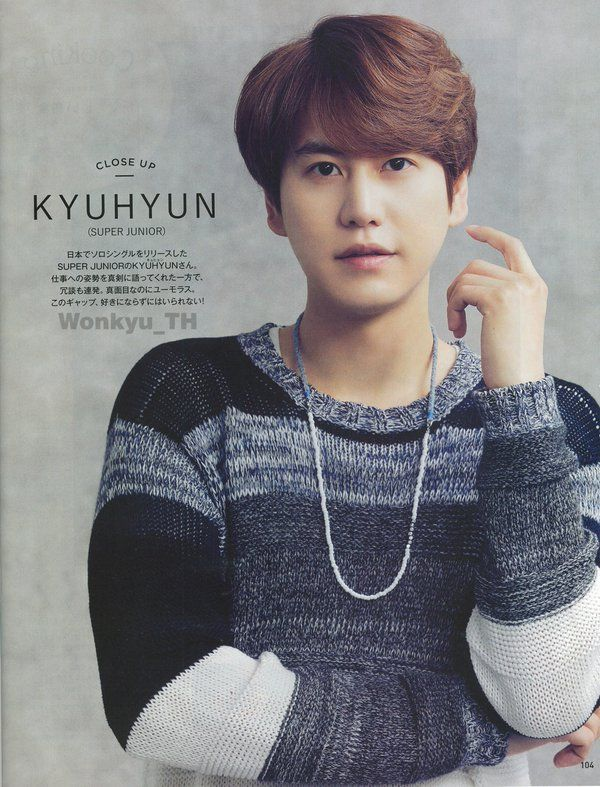 WONKYU_TH(407203_wk) 님 | 트위터 // [HQ SCAN] 1 AnAn Japan magazine - Kyuhyun [By:Wonkyu_TH]