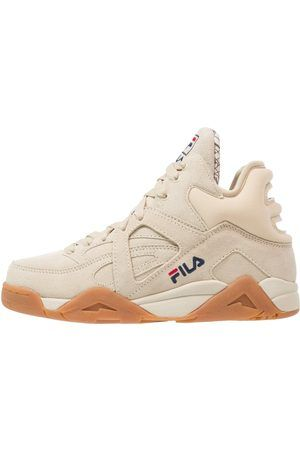 400810223153 Femme Baskets - Fila CAGE S MID Baskets montantes oyster grey ...