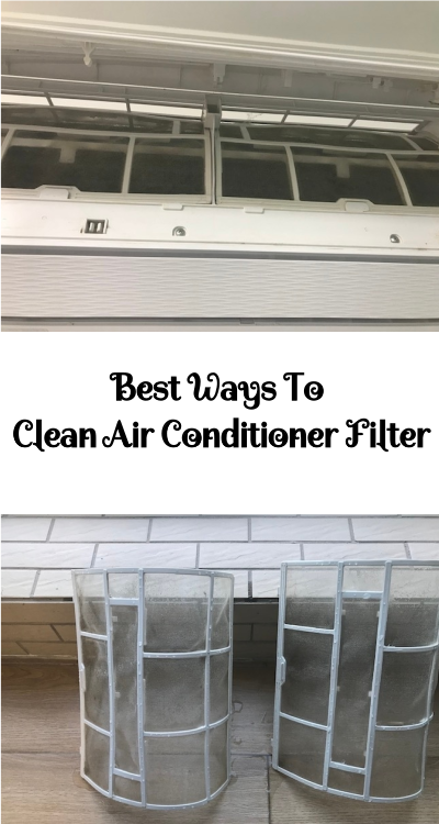 Best Ways To Clean Air Conditioner Filter Clean air