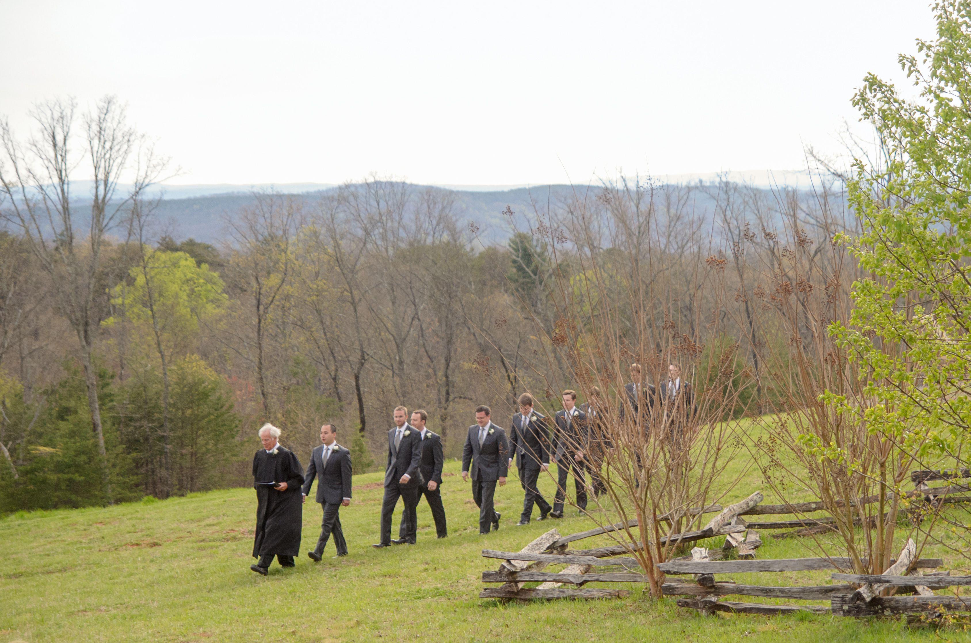 Spring mountain wedding at Tatum Acres in North Georgia ...