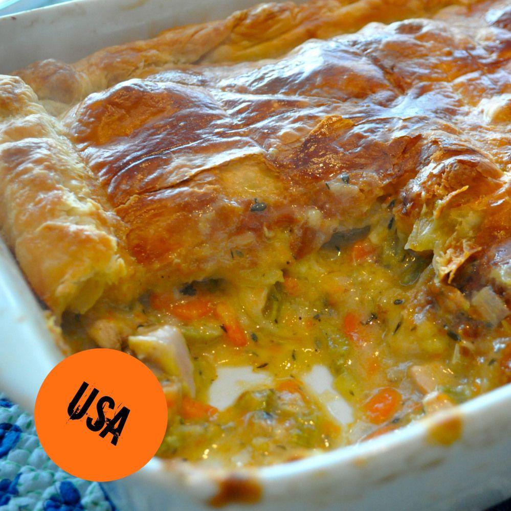 All American Comfort Food: Chicken Pot Pie