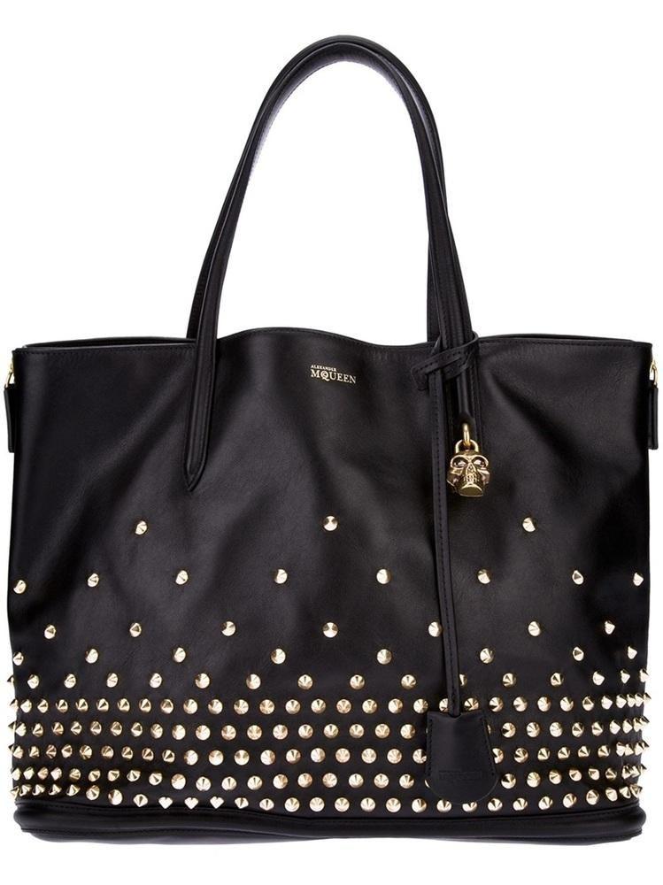 Alexander McQueen #handbag #purse #clutch studded #tote