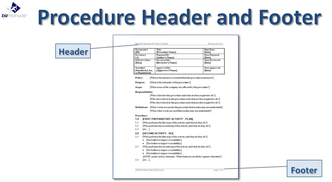 help desk procedures template - standard operating procedure template business