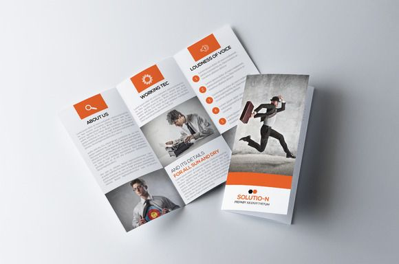 Business Trifold Brochure Template Brochure Template And Brochures