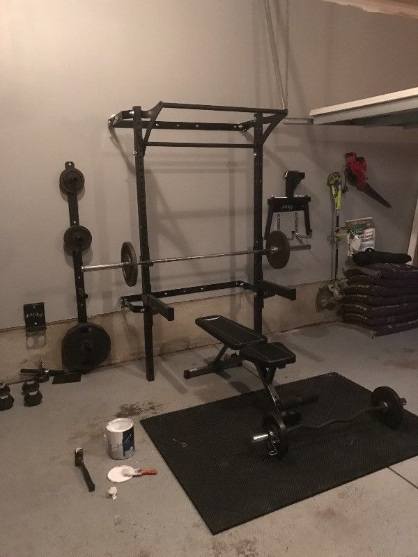 Profile 174 Squat Rack With Kipping Bar As Seen On Abc S