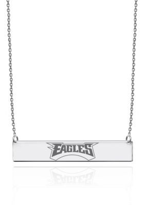 Belk  Co.  Philadelphia Eagles Bar Necklace in Sterling Silver