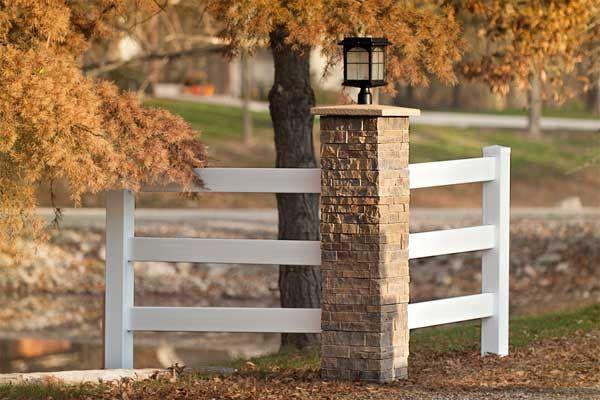 Building Products Rock Your Posts Driveway Entrance Farm Entrance Driveway Landscaping