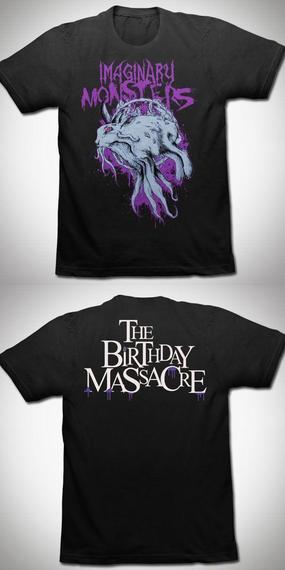 THE BIRTHDAY MASSACRE Imaginary Monsters T Shirt