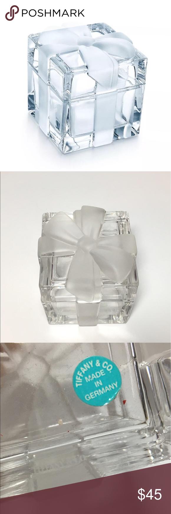 18++ Tiffany and co glass jewelry box ideas
