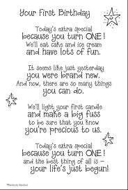 My Baby S 1st Birthday First Birthday Quotes