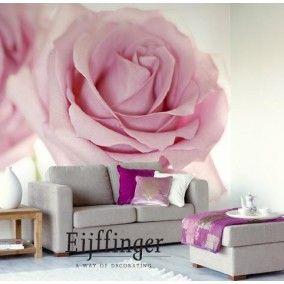 A Rose is a Rose bij Behangwebshop