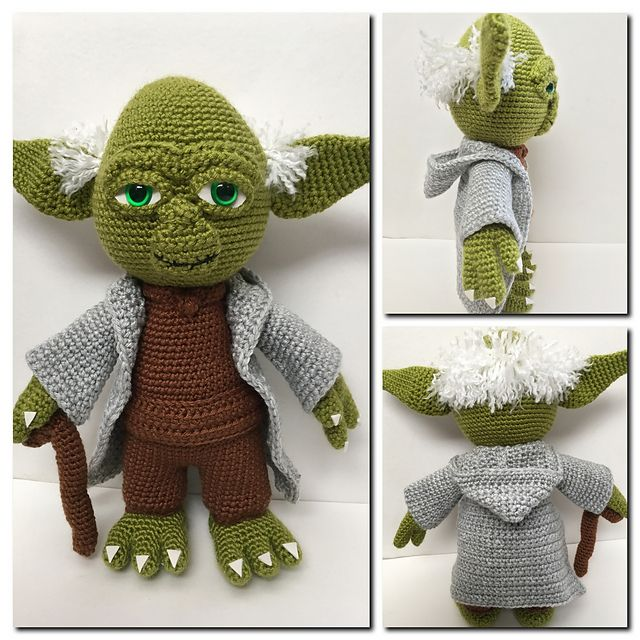Yoda the Wise One pattern by Holly\'s Hobbies | Imagenes de ...