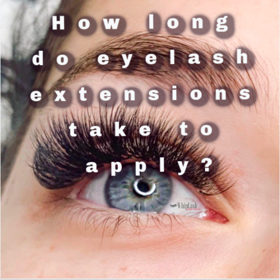 How Long Do Eyelash Extensions Take To Apply? in 2020 ...