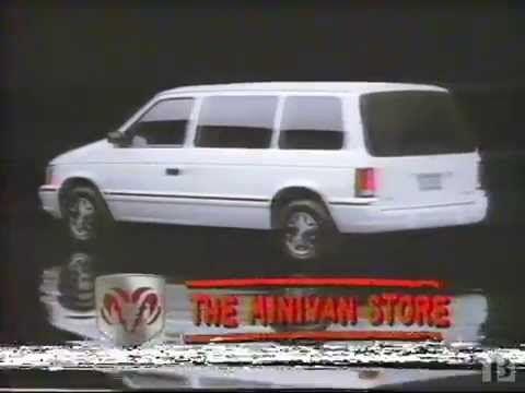 1993 Dodge Caravan Commercial Dodge Van Caravan Mini Van