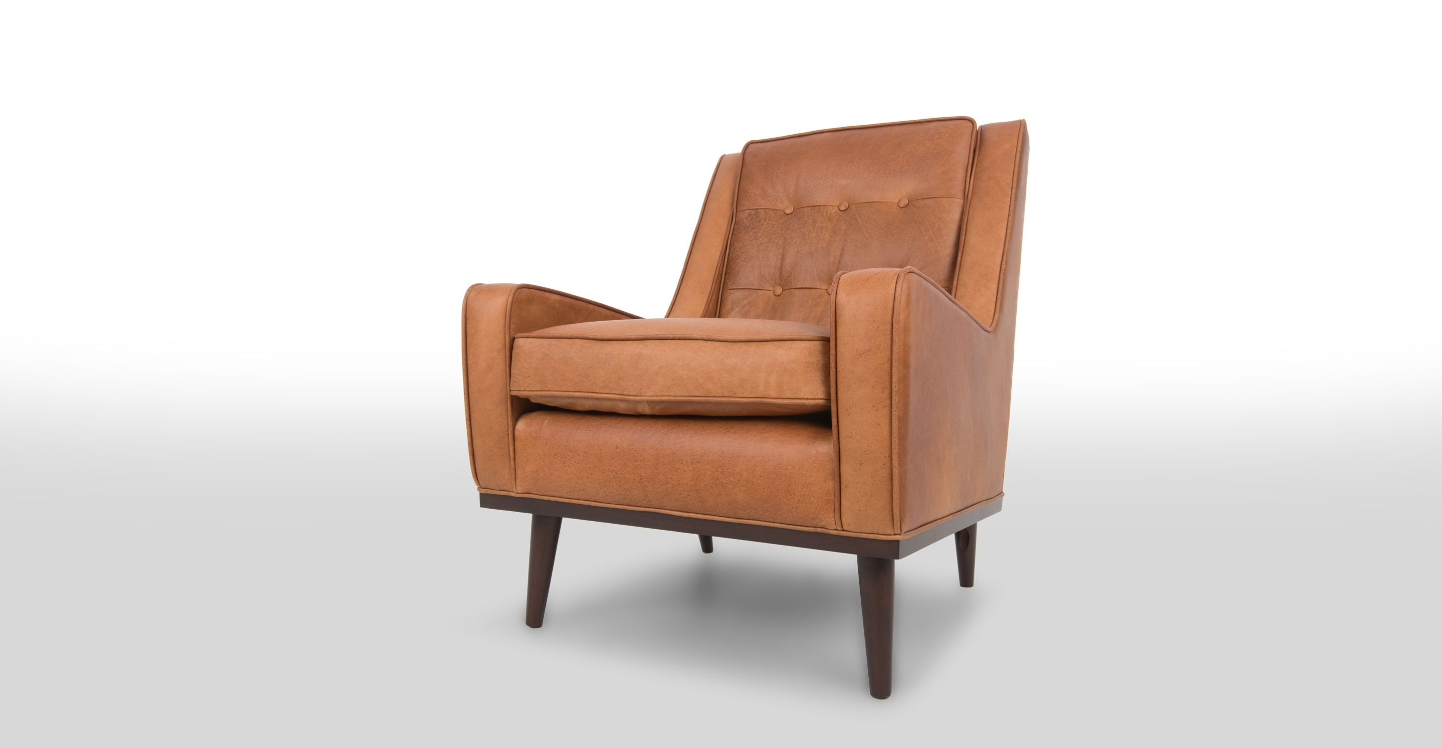 Nina Charme Tan Armchair Scandinavian Furniture Armchair