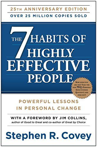 The 7 Habits of Highly Effective People: Powerful Lessons in Personal Change, http://www.amazon.com/dp/1451639619/ref=cm_sw_r_pi_awdm_m9u9wb1EVCPVK