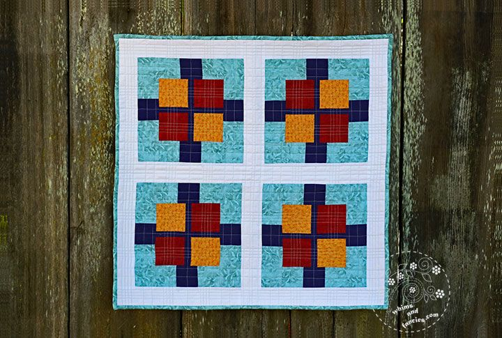 Squares Plus Quilt Pattern Whims And Fancies Baby Quilts